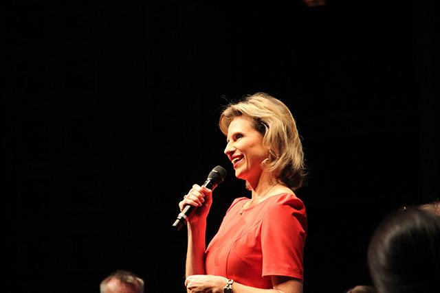 Anouschka Horn bei Stars im Prinze 2014